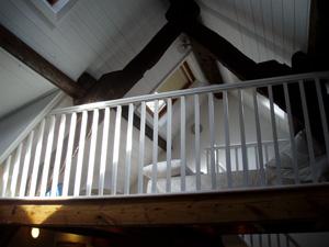 Laura Knight Studio - sleeping platform