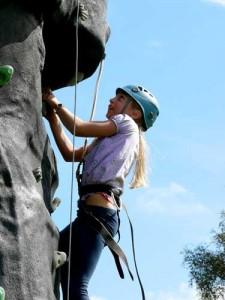 Tackling the Climbing Wall