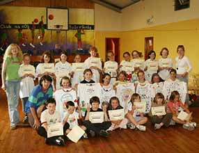 Ballinskelligs language camp gruop